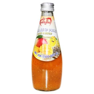 Miiysu Mango Flavour Chia Seed Drink 290ml