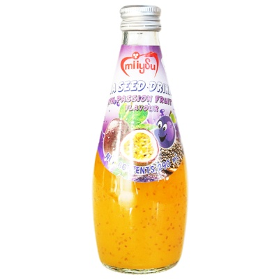 Miiysu Chia Seed Drink With Passion Fruit 290ml
