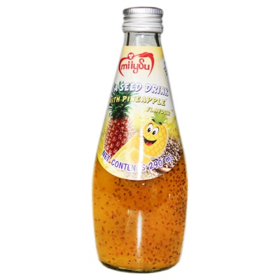 Miiysu Pineapple Flavour Chia Seed Drink 290ml