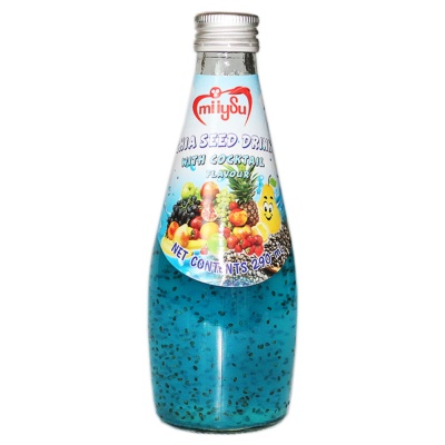 Miiysu Cocktail Flavour Chia Seed Drink 290ml