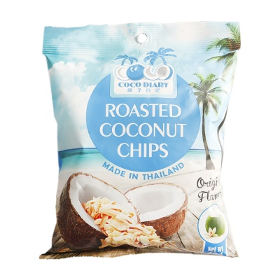 Coco Diary Original Crispy Coconut Chips 40g