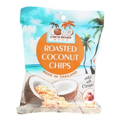 Coco Diary Caramel Crispy Coconut Chips 40g