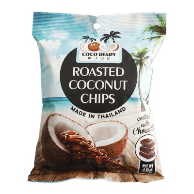 Coco Diary Chocolate Crispy Coconut Chips 40g