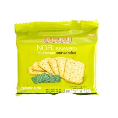 贝斯娜随身包海苔味饼干 100g