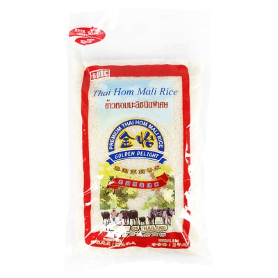 Golden Delight Premium Thai Hom Mali Rice 2kg