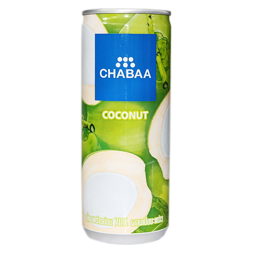 Chabaa Young Coconut Juice Drink 230ml