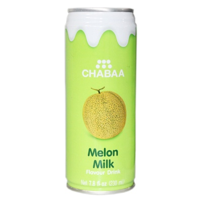 Chabaa Melon Milk Flavour Drink 230ml