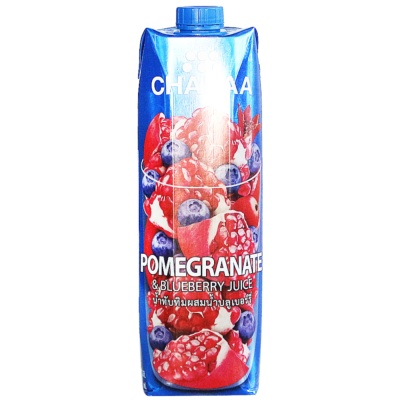 Chabaa Pomegranate & Blueberry Juice 1L