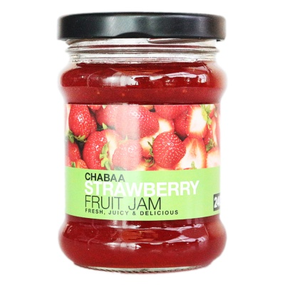 Chabaa Strawberry Jam 240g