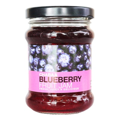 Chabaa Blueberry Fruit Jam 240g