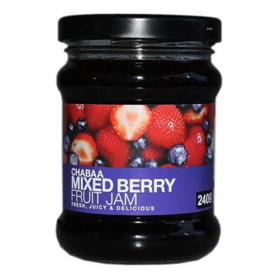 Chabaa Mixed Berry Fruit Jam 240g