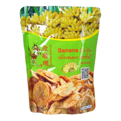 Kinnaree Banana Chips 100g