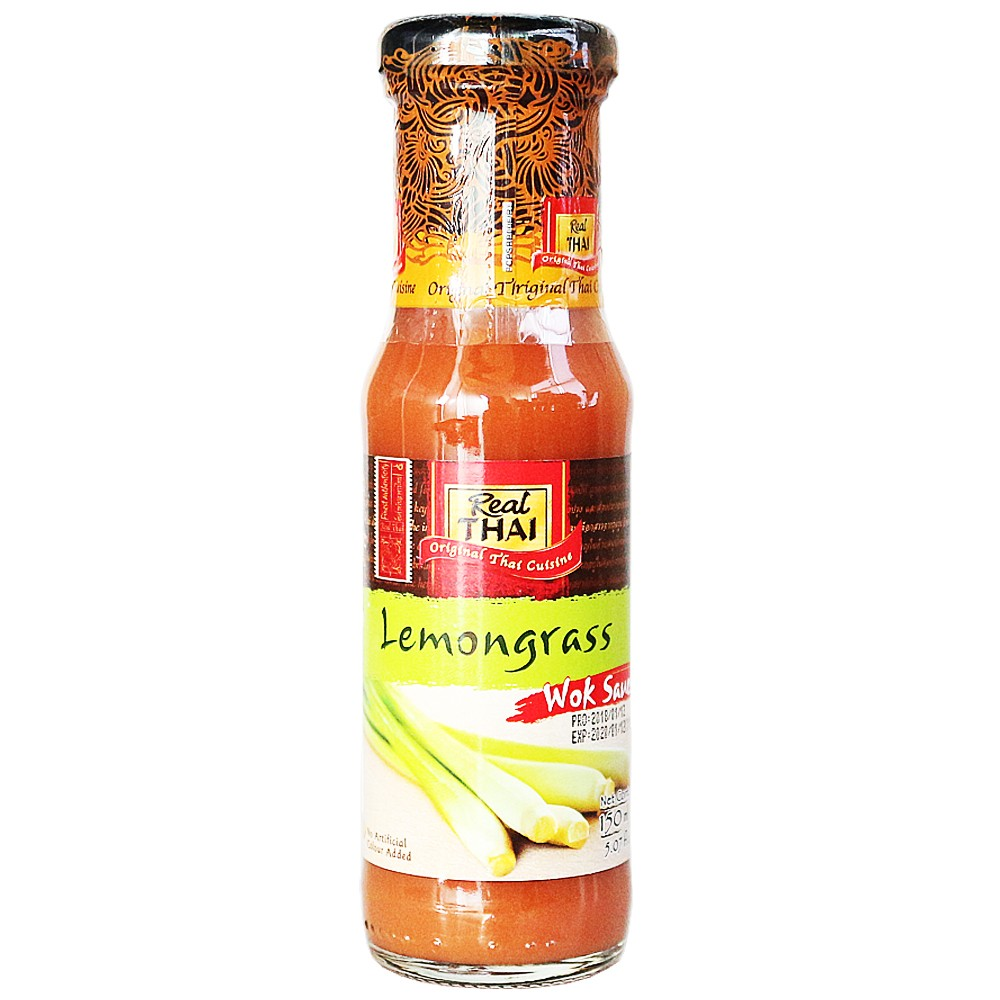 Real Thai Lemongrass Wok Sauce 150ml