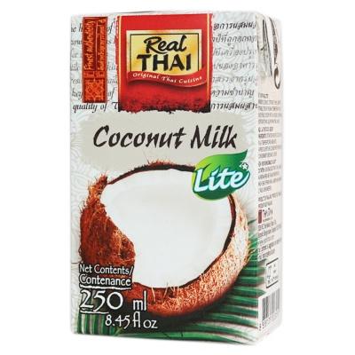 Real Thai Coconut Milk Lite UHT 250ml