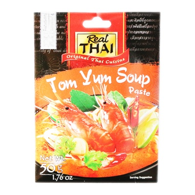 Real Thai Tom Yum Paste 50g