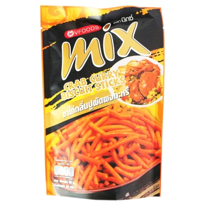 Vfoods Mix Crab Curry Biscuit Sticks 60g