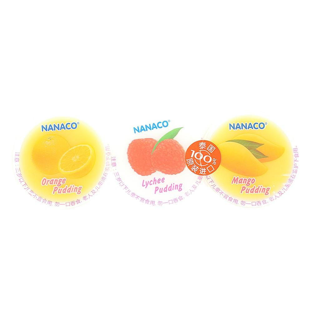 NANACO果冻(芒果味+荔枝味+桔子味) 240g