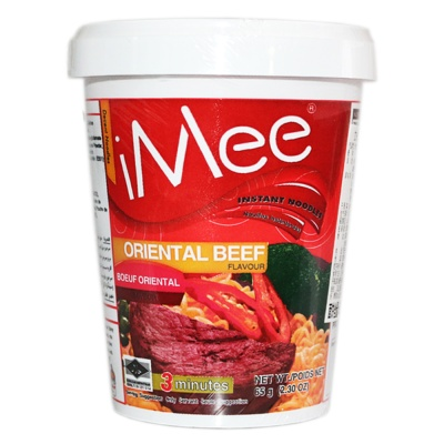 Imee Oriental Beef Flavored Instant Noodles 65g