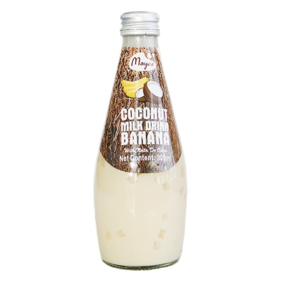 Mayen Banana Coconut Milk Drink(With Nata De Coco) 300ml