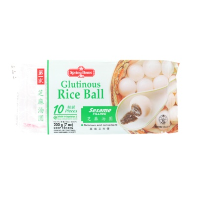 Spring Home Glutinous Rice Ball-Sesame 200g