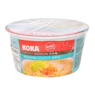 可口牌碗装快熟面(海鲜汤) 90g