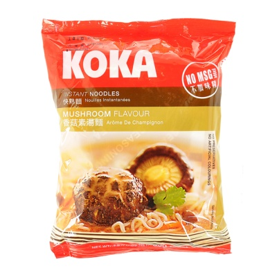 Koka Mushroom Flavour Instant Noodles 85g
