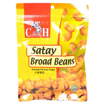 Kacang Parang Pedas Satay Broad Beans 150g