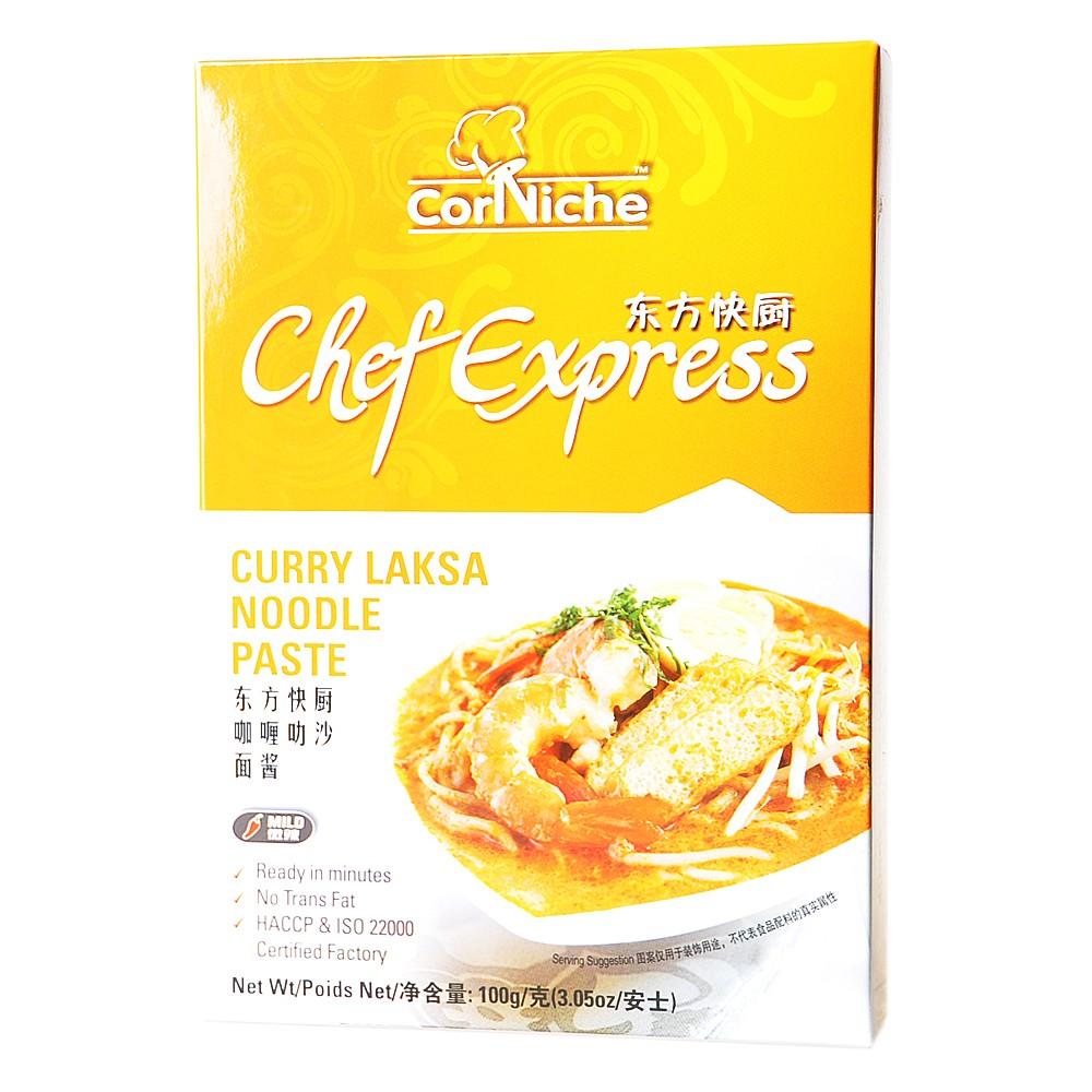 Corniche chef express curry laksa noodle paste 100g