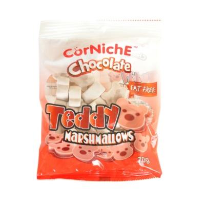 可尼斯巧克力泰迪棉花糖 70g