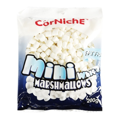 CorNiche Minis White Marshmallows 200g