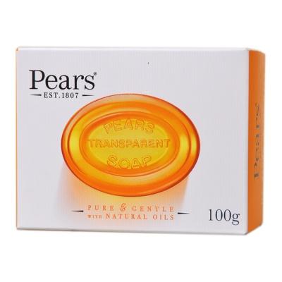 梨牌琥珀橙精油润养水晶皂 100g