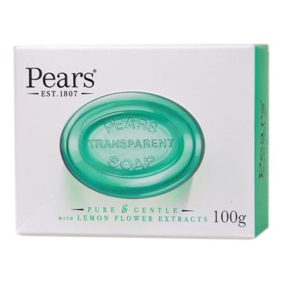 梨牌翡翠绿柠檬花氛水晶皂 100g