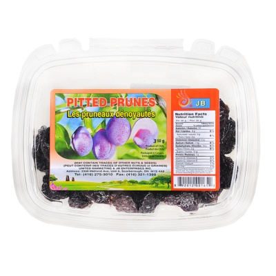 Jb Pitted Prunes 400g