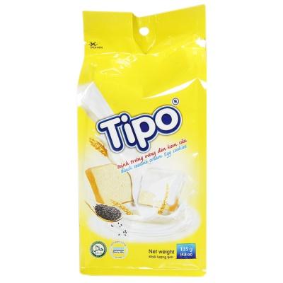 Tipo面包干(牛奶芝麻味) 135g