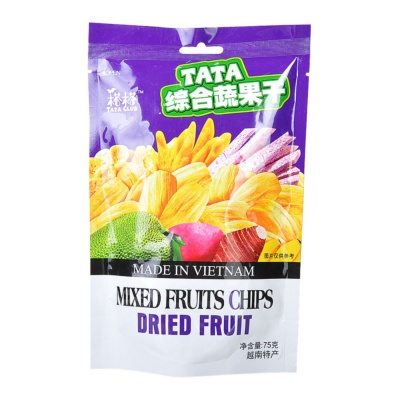 Tata Mixed Fruits Chips 75g