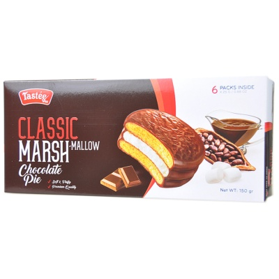 Classic Marsh-Mallow Chocolate Pie 150g