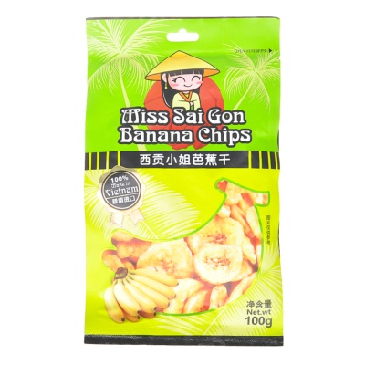 Miss Sai Gon Banana Chips 100g