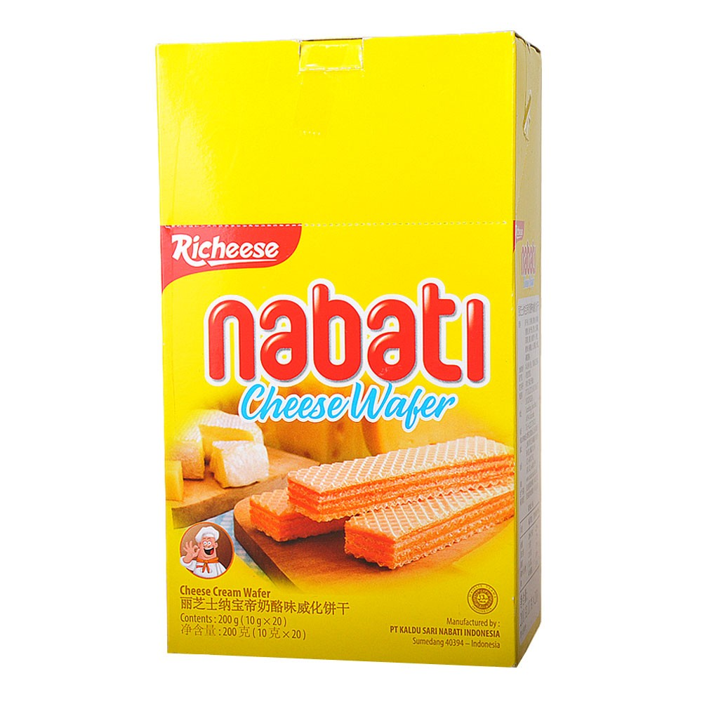 Richeese Nabati Cheese Wafer 20*10g