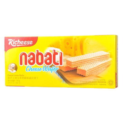 Richeese Nabati Cheese Wafer 145g