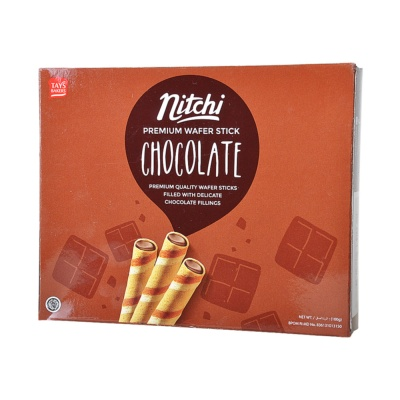 Nitchi Chocolate Wafer Stick 100g