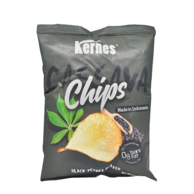 Kernes Black Pepper Flavored Cassava Chips 85g