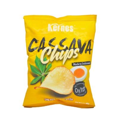 Kernes Salted Egg Flavored Cassava Chips 85g