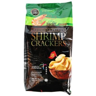 Papatonk Seaweed Shrimp Crackers 85g