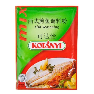 可达怡西式煎鱼调料粉 31g