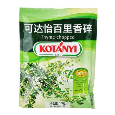 Kotanyi Thyme Chopped 13g