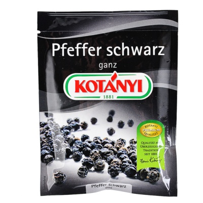 Kotanyi Black Pepper Whole 30g