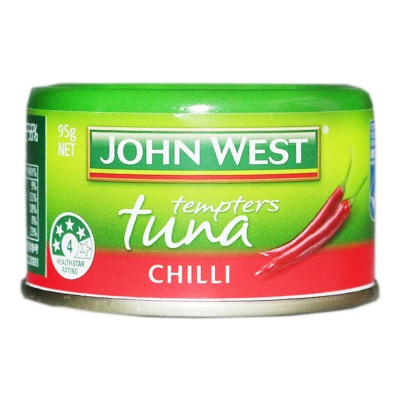 Johnwest Tempters Tuna Chilli 95g