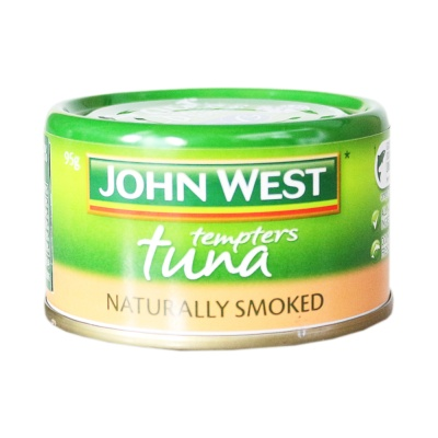 西部约翰烟熏金枪鱼罐头 95g