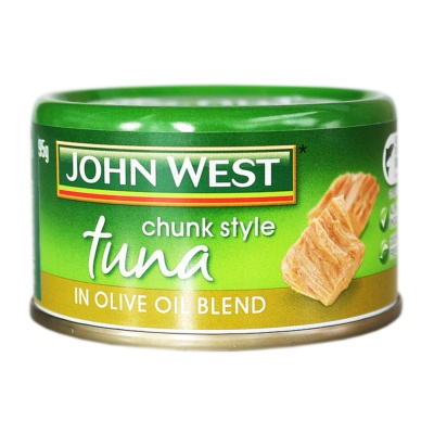 Johnwest Chunk Style Tuna In Oil Blend 95g