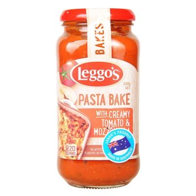 Leggo's Pasta Bake-Creamy Tomato & Mozzarella 500g